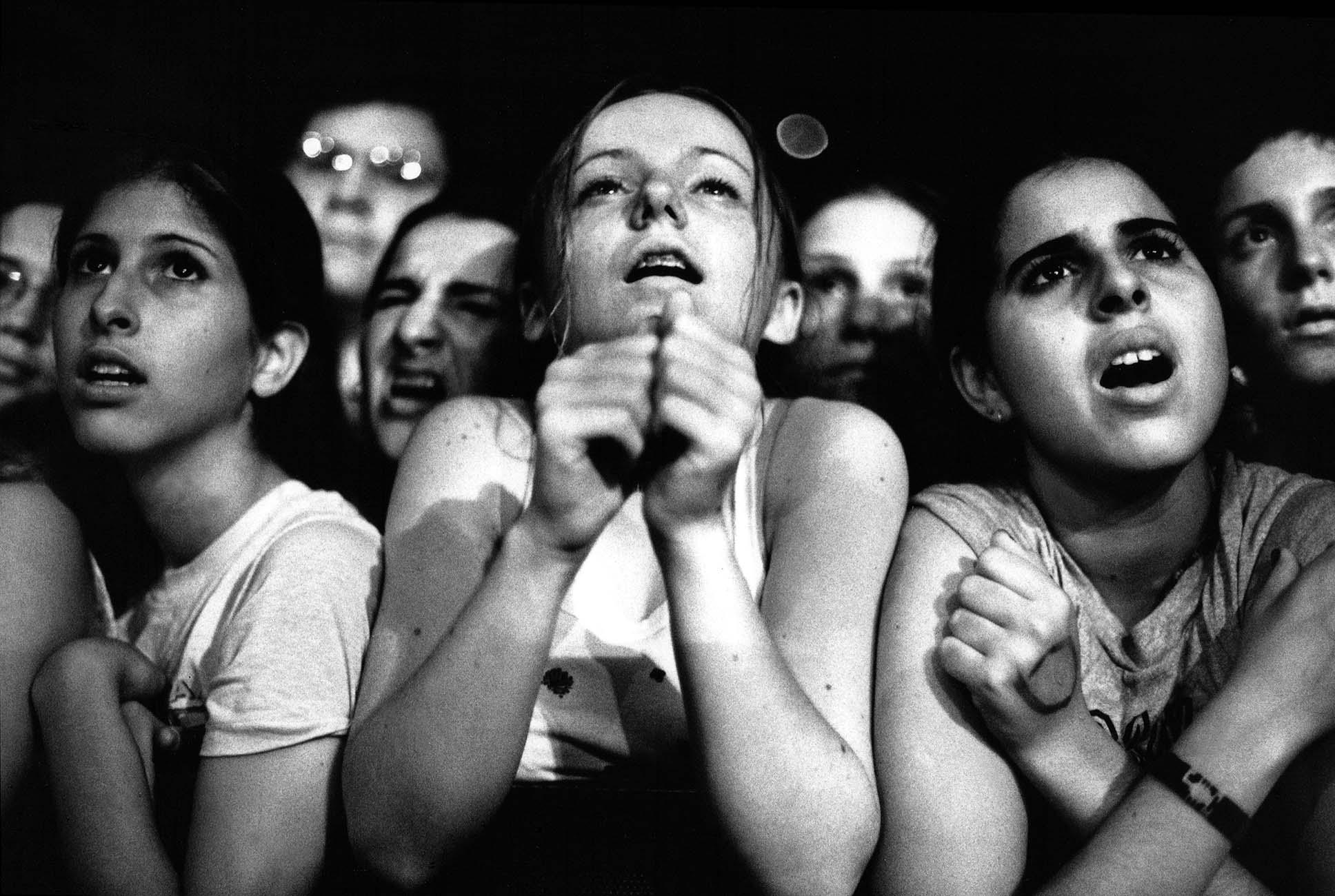 Fans - photo by Leslie Fratkin