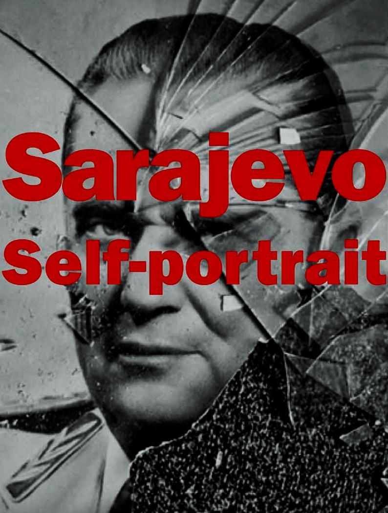 Sarajevo Self-portrait book cover - Leslie Fratkin
